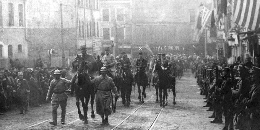 8 Şubat 1919'da, İstanbul'a fatih edasıyla giren Fransız General d'Esperey