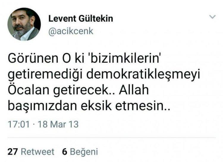 FETÖ artığı, Öcalan sevdalısı Gültekin kin kustu! Azerbaycan'a desteğe  tepki gösterdi