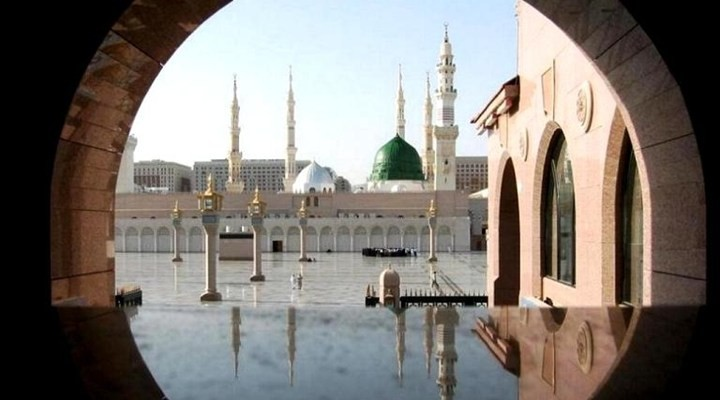 Hz.Muhammed'in evi i�te b�yleydi