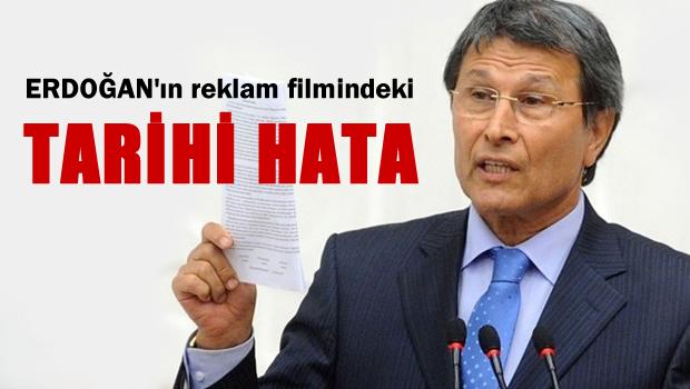 Halaçoğlu: Erdoğan'ın reklam filminde tarihi bir hata var