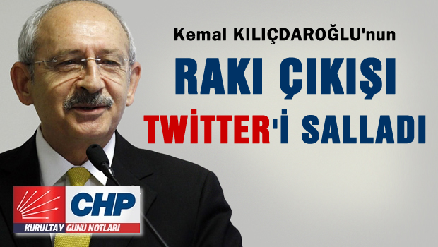 'Rak�' ��k��� twitter'� sallad�