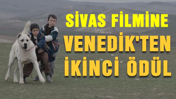 Sivas filmine Venedik'ten ikinci ödül