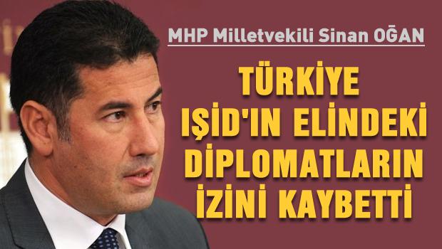 Türkiye IŞİD'ın kaçırdığı Diplomatların İzini Kaybetti