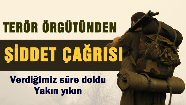PKK �iddet �a�r�s� yapt�