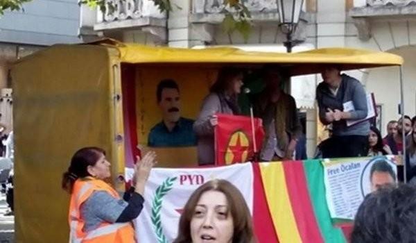 PKK flaması kaldıran vekile soğuk duş!