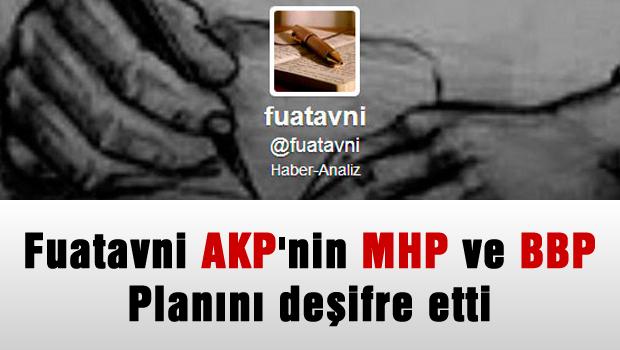 Fuatavni'den 'AKP, MHP ve BBP'yi dizayn etmeye çalışıyor' iddiası