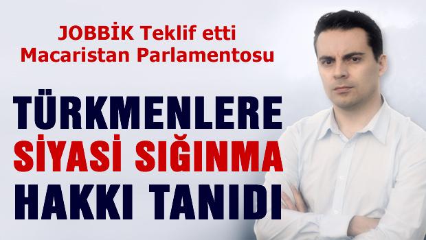Macaristan Parlamentosu T�rkmenlere Siyasi s���nma hakk� tan�d�