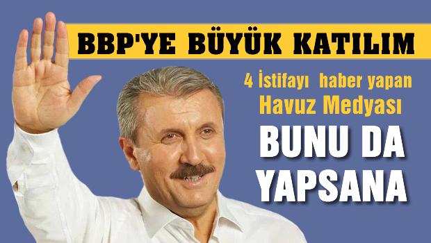 BBP'ye b�y�k kat�l�m