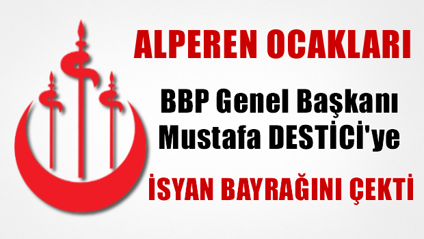 Alperen Ocakları Vakfı'ndan AKP'nin kurduttuğu çakma Alperen Ocakları Derneğine sert tepki