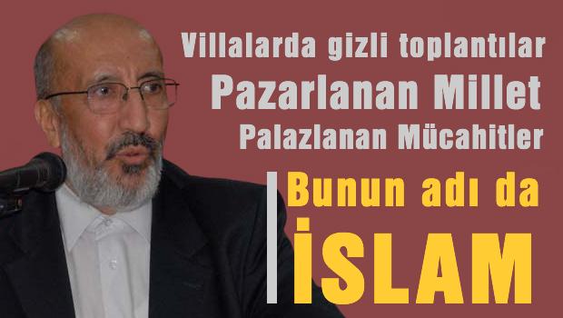 Cemaat�iler tek tek AKP'nin kurulu� a�amalar�n� a��klamaya ba�lad�