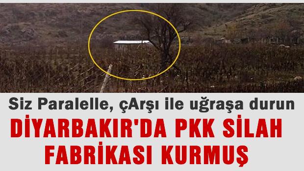 PKK'n�n Diyarbak�r'daki silah fabrikas� bas�ld�