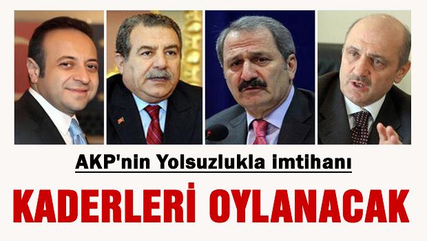 AKP'li 4 Bakan'�n yolsuzluk oylamas� bug�n