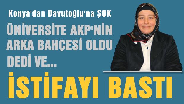 Konya AKP'de istifa depremi
