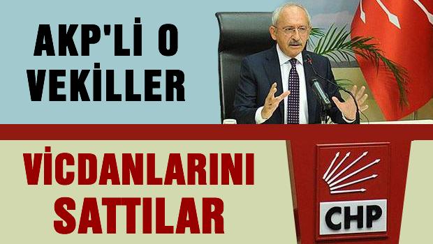 AKP'li O vekiler: ''Vicdanlarını sattılar''