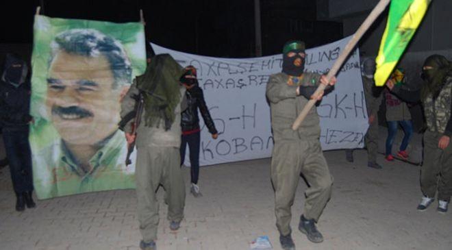 PKK g�vde g�sterisi yap�yor
