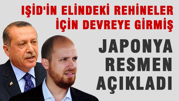 Bilal Erdoğan IŞİD'in elindeki rehineler için devreye girmiş!