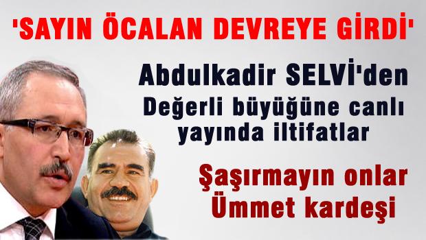 SELVİ'DEN 'ÖCALAN' GÜZELLEMESİ