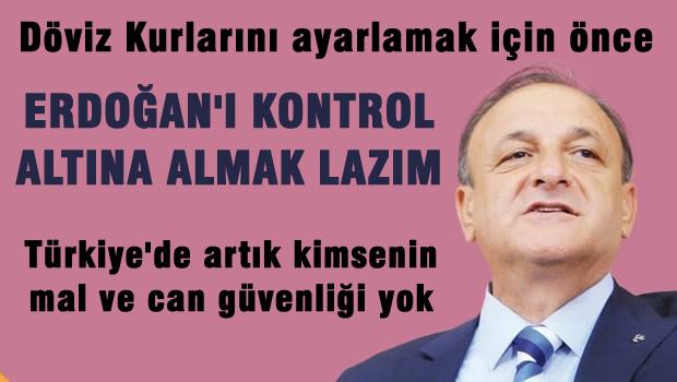 VURAL 'Türkiye'de kimsenin mal ve can güvenliği yok'