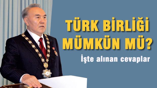 Kazakistan'da Türk Halkına soruldu? Türk Birliği mümkün mü?