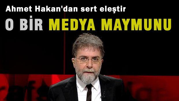 Ahmet Hakan'dan Nihat Doğan'a 'Medya maymunu'