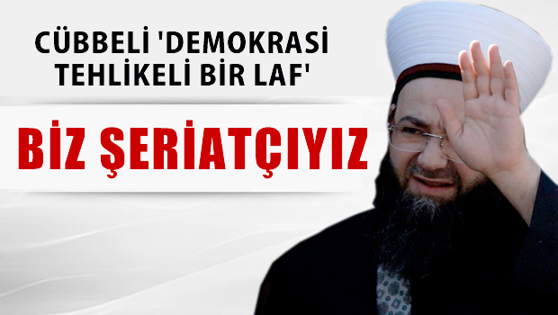 C�bbeli Ahmet Hoca Yeni �afak Gazetesi'ne fena sayd�rd�