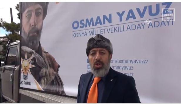 AKP aday aday�ndan b�rkl� tan�t�m kampanyas�