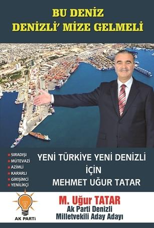 AKP milletvekili aday aday� Mehmet U�ur Tatar'dan akla ziyan vaat