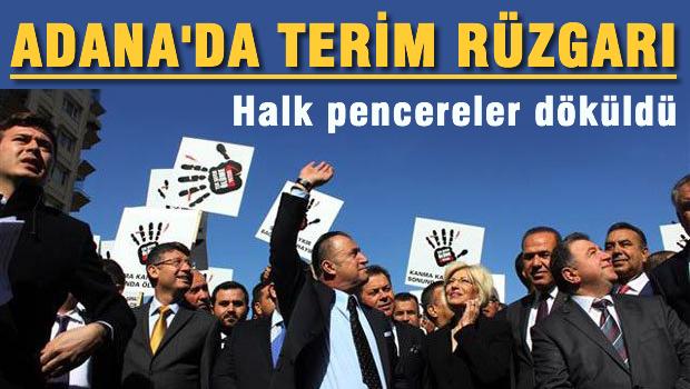 Adana'da terim r�zgar�
