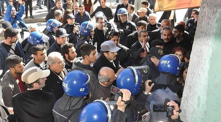 BDP'liler �lk�c�lere sald�rd�