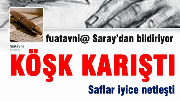Fuatavni@ Sara'dan bildiriyor 'K��k kar��t�'