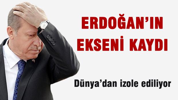 NYT: Erdoğan'ın ekseni kaydı!