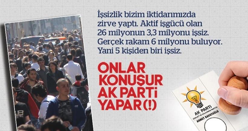 Onlar konu�ur AKP yapar (!)