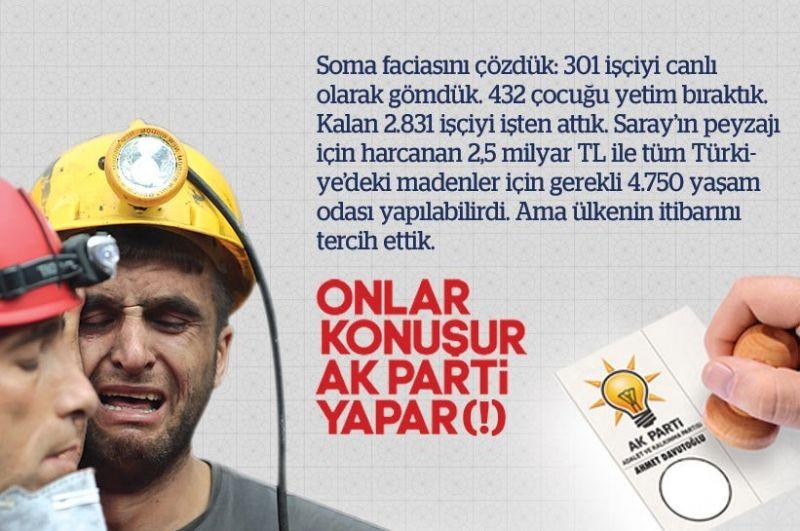Onlar konuşur AKP yapar (!)