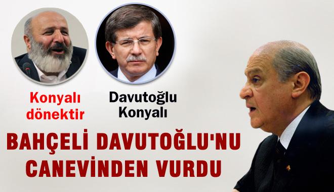 Davutoğlu, Konyalıya 'Dönek' Diyen Havuzcuya Gıkını Çıkaramadı