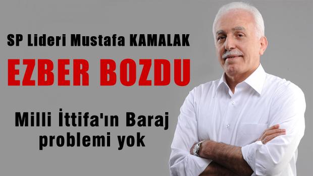 Mustafa Kamalak Ezber bozdu