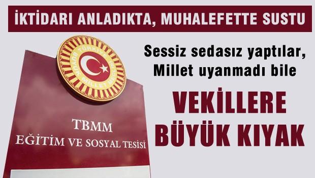 Milletvekillerine Ankara'da özel sosyal tesis açıldı