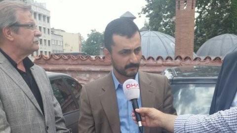 Bilal Erdoğan camiye arabayla girdi!