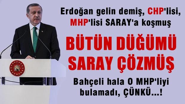 MHP'nin AKP�ye �rt�l� Deste�in �ifresi Saray�daki G�r��me