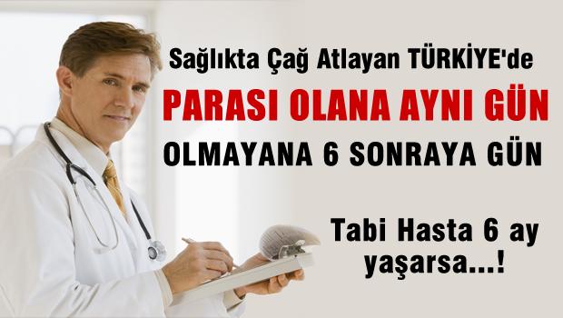 AKP'nin Övündüğü Hastanelerde Para Verirseniz İnsansınız