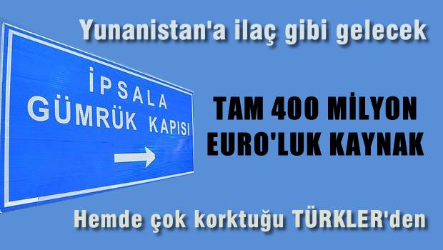 Yunanistan'a '400 milyon euroluk' can simidi