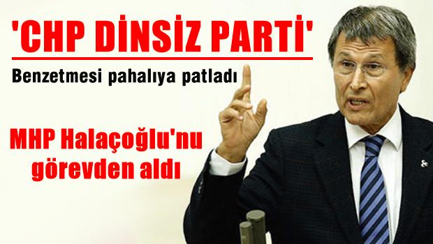 MHP Yusuf Halaçoğlu'nu çizdi!