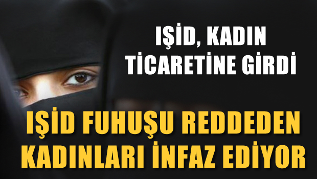 IŞİD seks yapmayı reddeden 19 kadını infaz etti