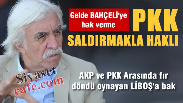 Kaşar Liboş Cengiz ÇANDAR 'PKK Saldırmakla haklı'