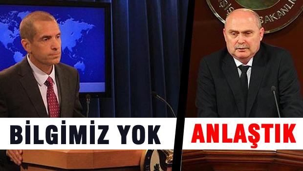 ABD'den, Türkiye'ye yalanlama