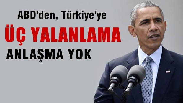 Amerika'dan Türkiye'ye üç yalanlama