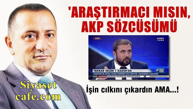Fatih Altayl� Canl� yay�nda o anket�iyi f�r�alad�!
