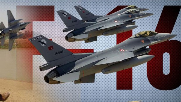 F-16'lar I��D'i bombal�yor