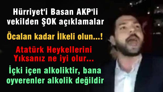 Hürriyet'i Baskın Yapan AKP'li Vekil'den Öcalan'la İlgili Şok Tweet!..