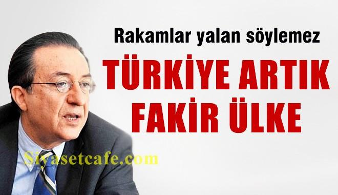 Süleyman Yaşar: Fakir Ülke Olduk