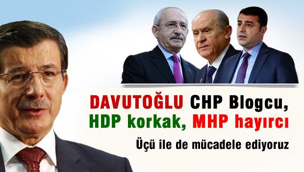Davutoğlu: 258 kardeşimiz mücadele verdi